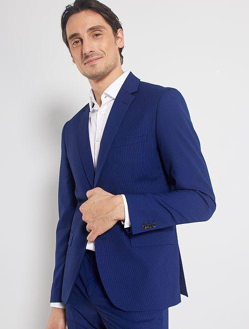 Veste de costume skinny                                         bleu
