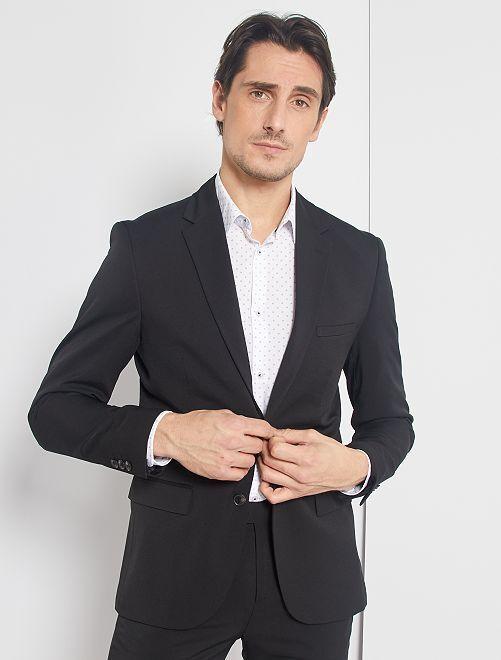Veste de costume skinny                                         noir