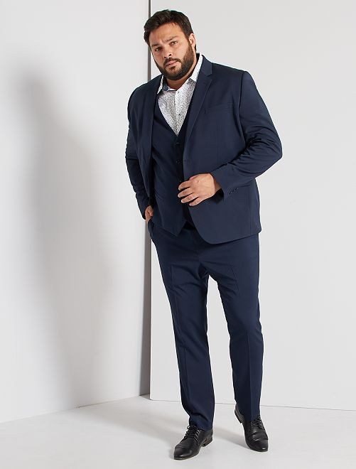 Veste de costume slim                                                     bleu marine