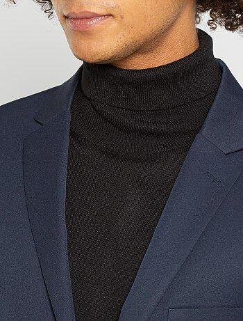 veste de costume slim en twill homme bleu marine kiabi. Black Bedroom Furniture Sets. Home Design Ideas