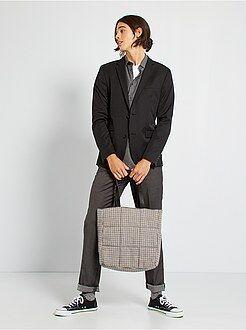 Homme du S au XXL Veste de costume slim en twill
