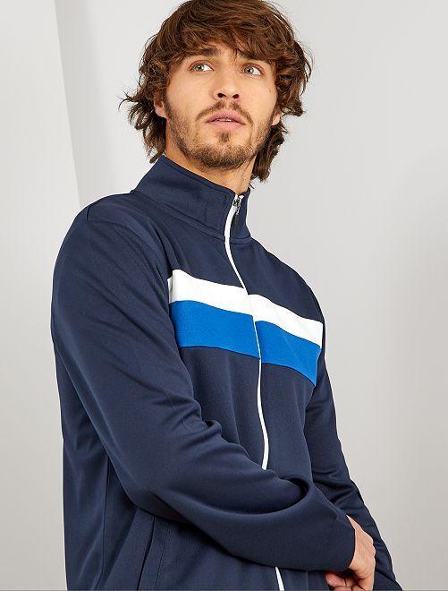 Veste de sport esprit vintage                                         bleu marine
