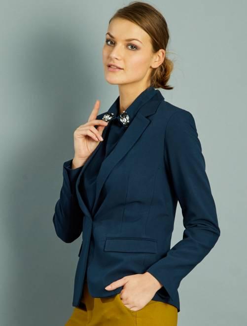 Veste tailleur blazer femme pas cher