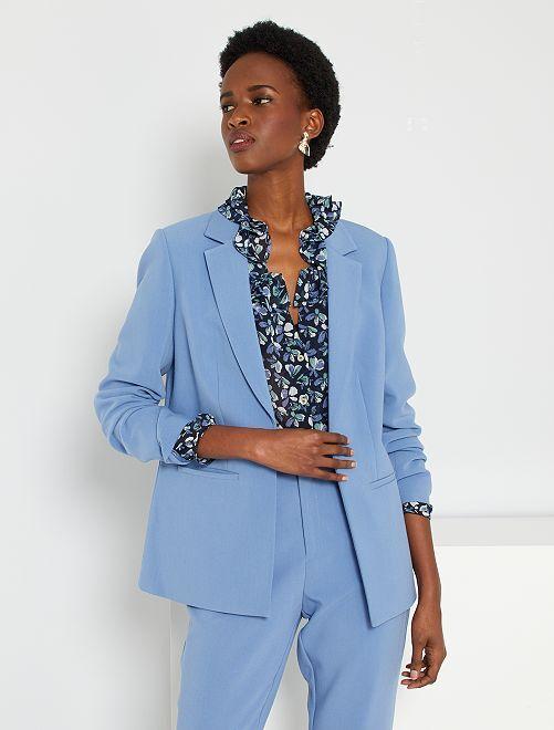 Veste de tailleur                             bleu grisé