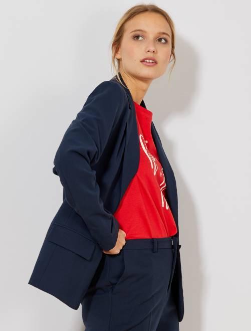 Veste de tailleur                                         bleu marine Femme