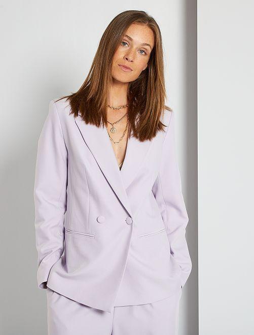 Veste de tailleur                                                                 lilas