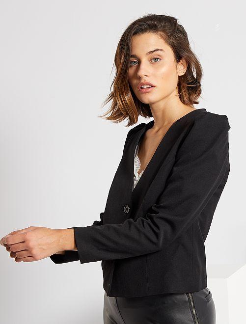 Veste de tailleur                             noir