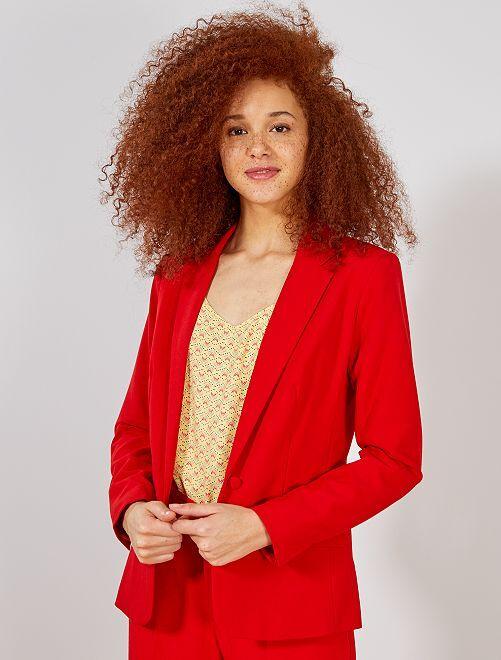 Veste de tailleur                                                                 rouge Femme