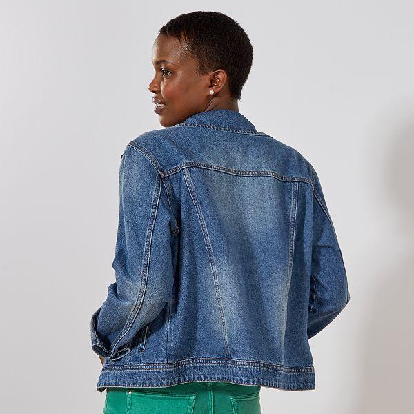 Veste denim 'éco conception' Femme stone Kiabi 20,00€