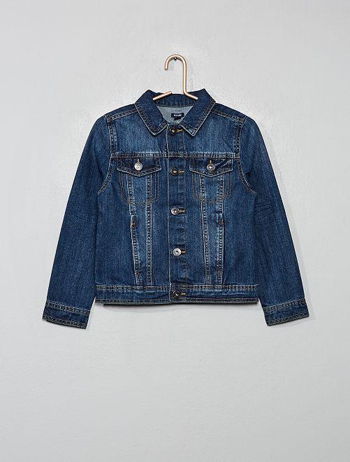 Veste en jean                                                     bleu brut