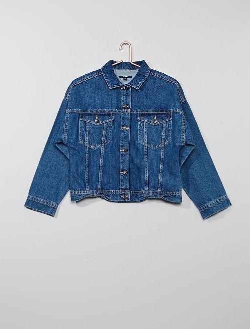 Veste en jean                                         bleu Fille adolescente