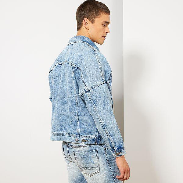 à bas prix c7ada 88648 Veste en jean oversize