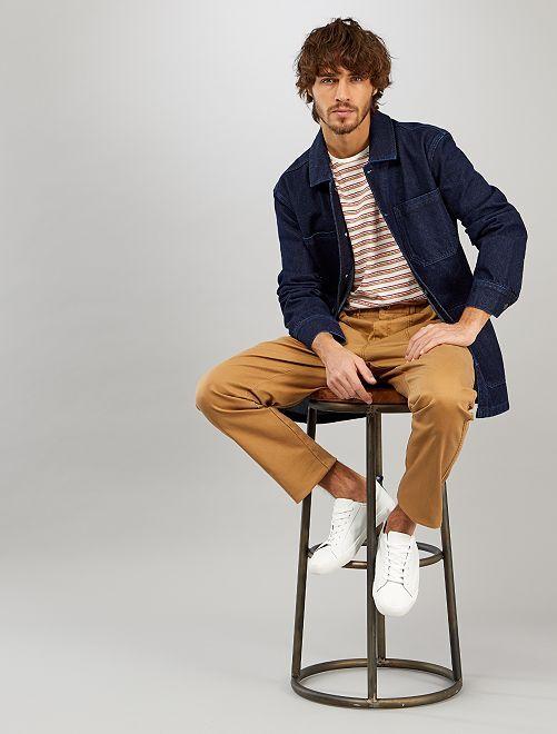 Veste en jean workwear                             brut
