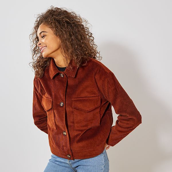 Veste en jean sans manche femme kiabi