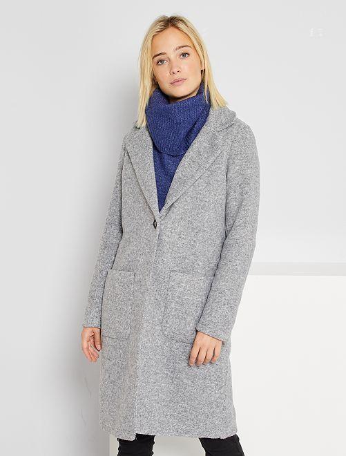 Veste longue 'JDY'                             gris