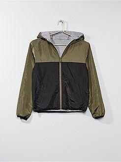 Manteau, veste - Veste réversible bicolore - Kiabi