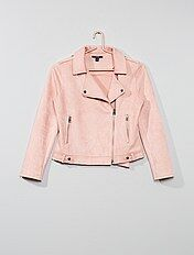 Veste rose pale | Kiabi | La mode à petits prix