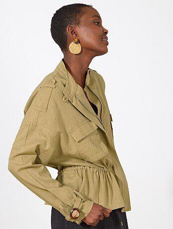 793ae96609d63 Soldes veste femme | manteau, parka, blouson hiver Femme | Kiabi