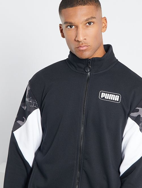 Veste zippée 'Puma'                             noir