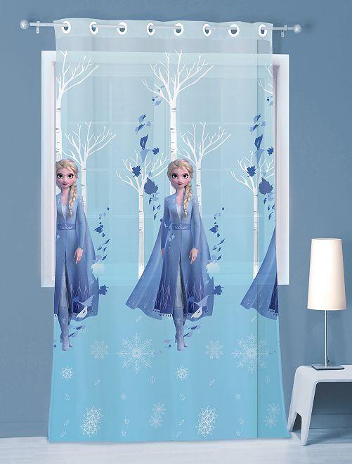 Voilage 'La Reine des Neiges' 140 x 240 cm                             bleu